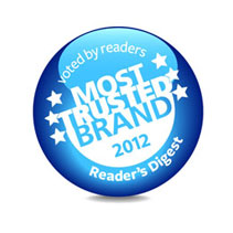 Most trusted brand 2012