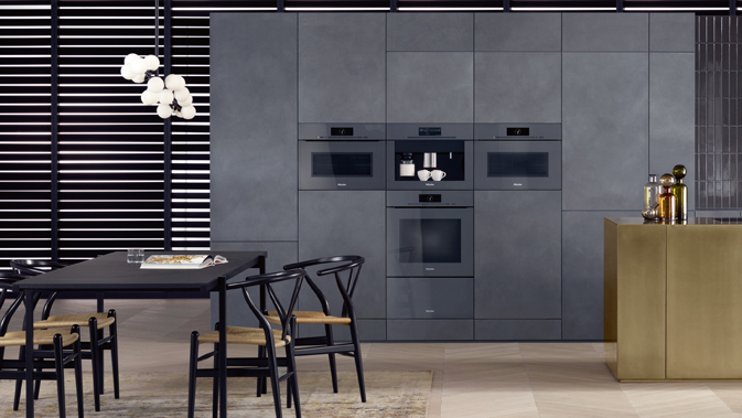 Press releases for Miele kitchen designs