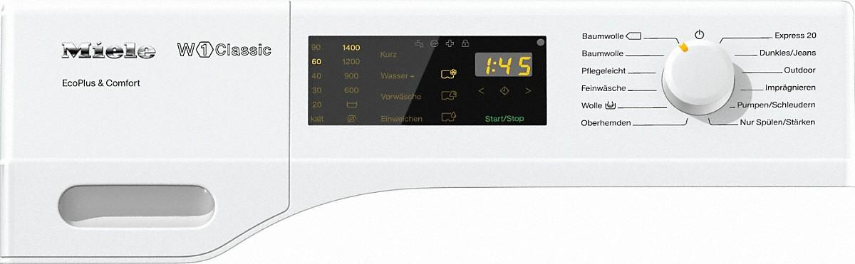 miele wdd031 wps ecoplus comfort w1 classic waschmaschine. Black Bedroom Furniture Sets. Home Design Ideas