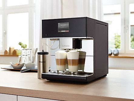 miele cm 6350 stand kaffeevollautomat. Black Bedroom Furniture Sets. Home Design Ideas