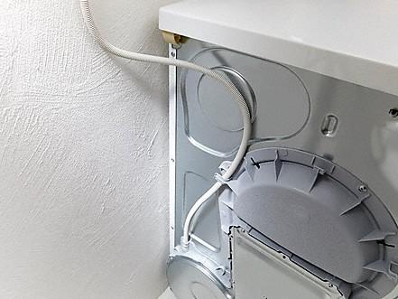 Integrierte kondenswasserableitung trockner