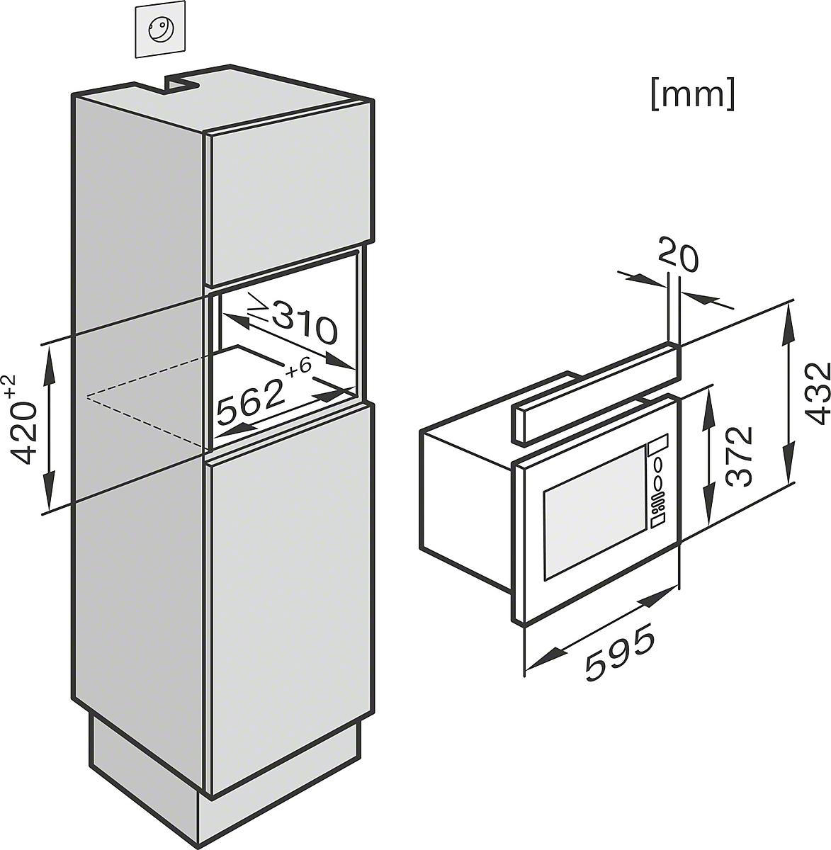 einbauskizzen mit automatikprogrammen f r beste ergebnisse. Black Bedroom Furniture Sets. Home Design Ideas