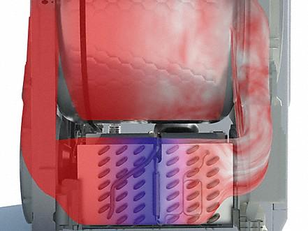 Energiesparendes wärmepumpensystem produktvorteile trockner