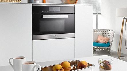 miele dampfgarer mit mikrowelle. Black Bedroom Furniture Sets. Home Design Ideas