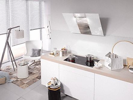 miele da 6066 w white wing kopffrei dunstabzugshaube brillantwei b. Black Bedroom Furniture Sets. Home Design Ideas