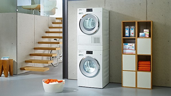 Schrank Waschmaschine Trockner Übereinander – Zuhause Image Idee