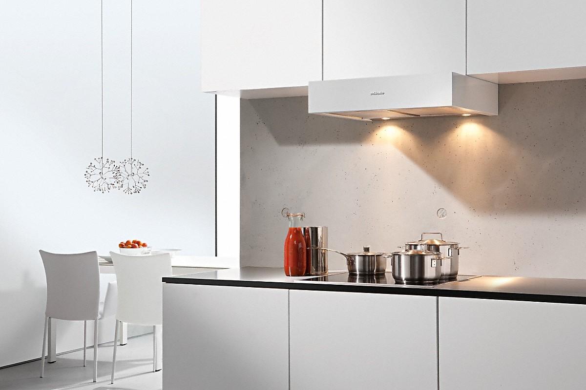 Abzugshaube küche reinigen. spritzschutz herd offene küche e geräte