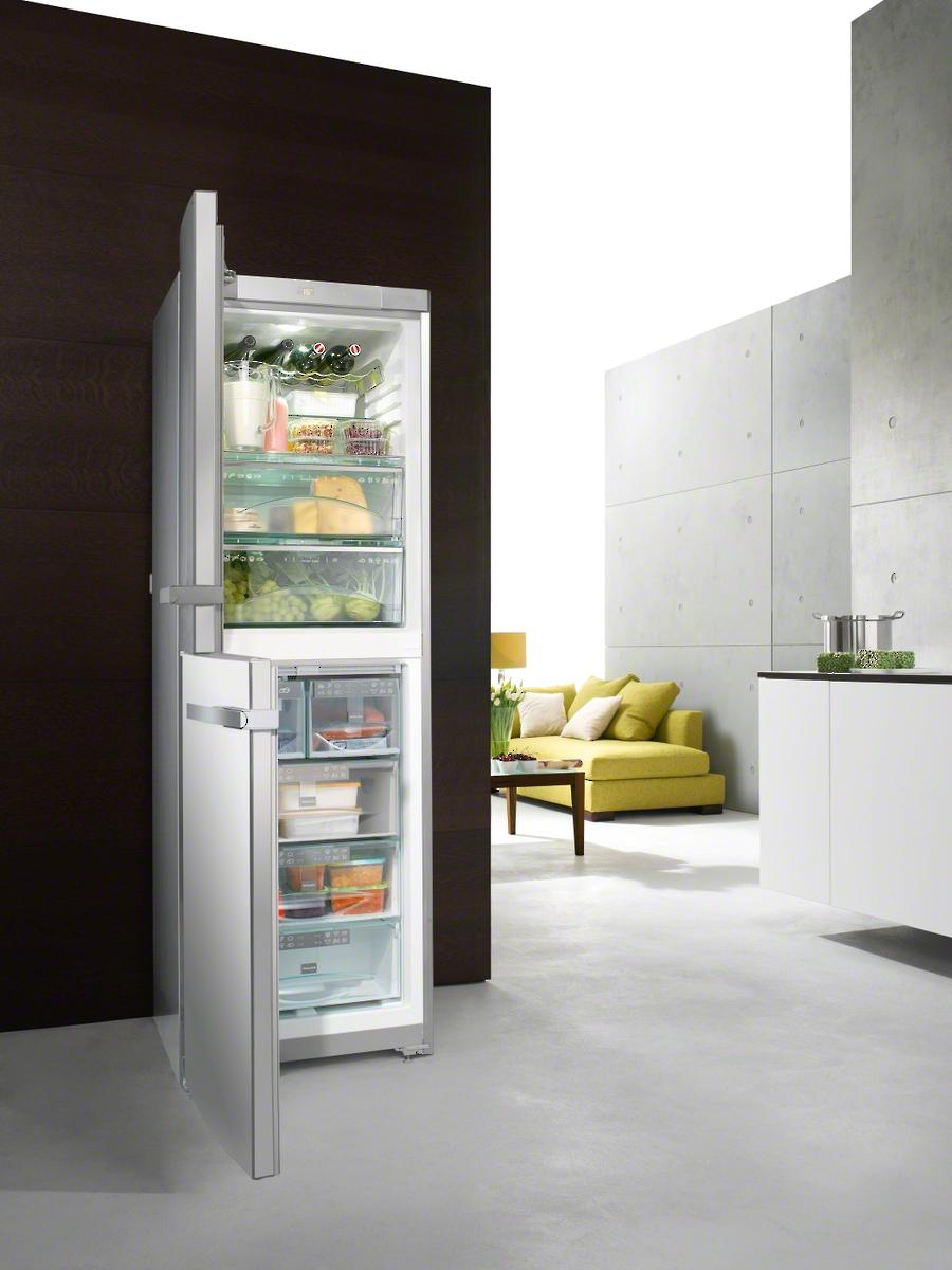 miele kfn 14827 sde ed cs 2 stand k hl gefrierkombination. Black Bedroom Furniture Sets. Home Design Ideas