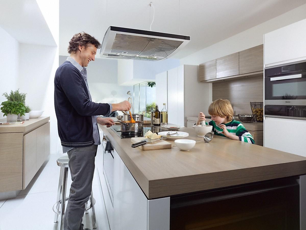 miele da 7006 d aura insel dunstabzugshaube. Black Bedroom Furniture Sets. Home Design Ideas