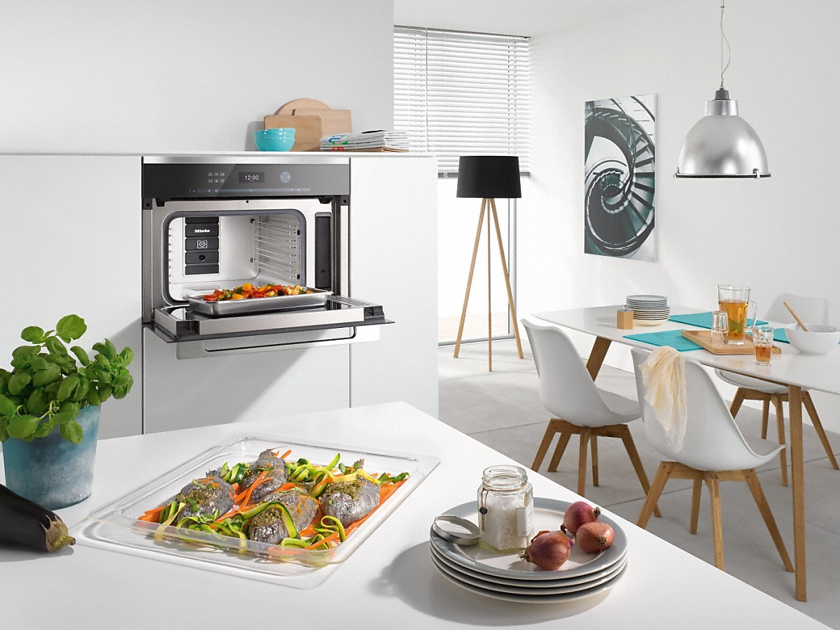 miele dampfgarer dgm 6301 dampfgarer mit mikrowelle. Black Bedroom Furniture Sets. Home Design Ideas