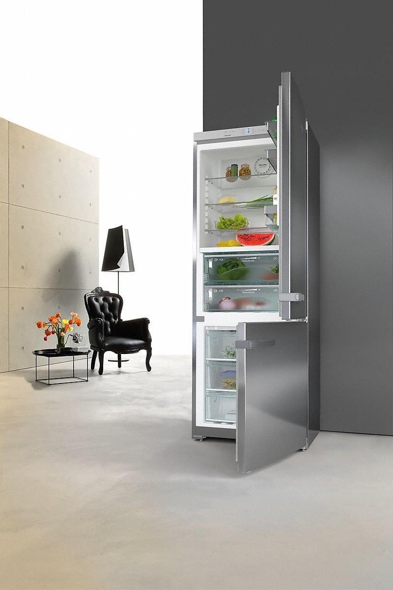 miele kfn 16947 d ed cs stand k hl gefrierkombination. Black Bedroom Furniture Sets. Home Design Ideas