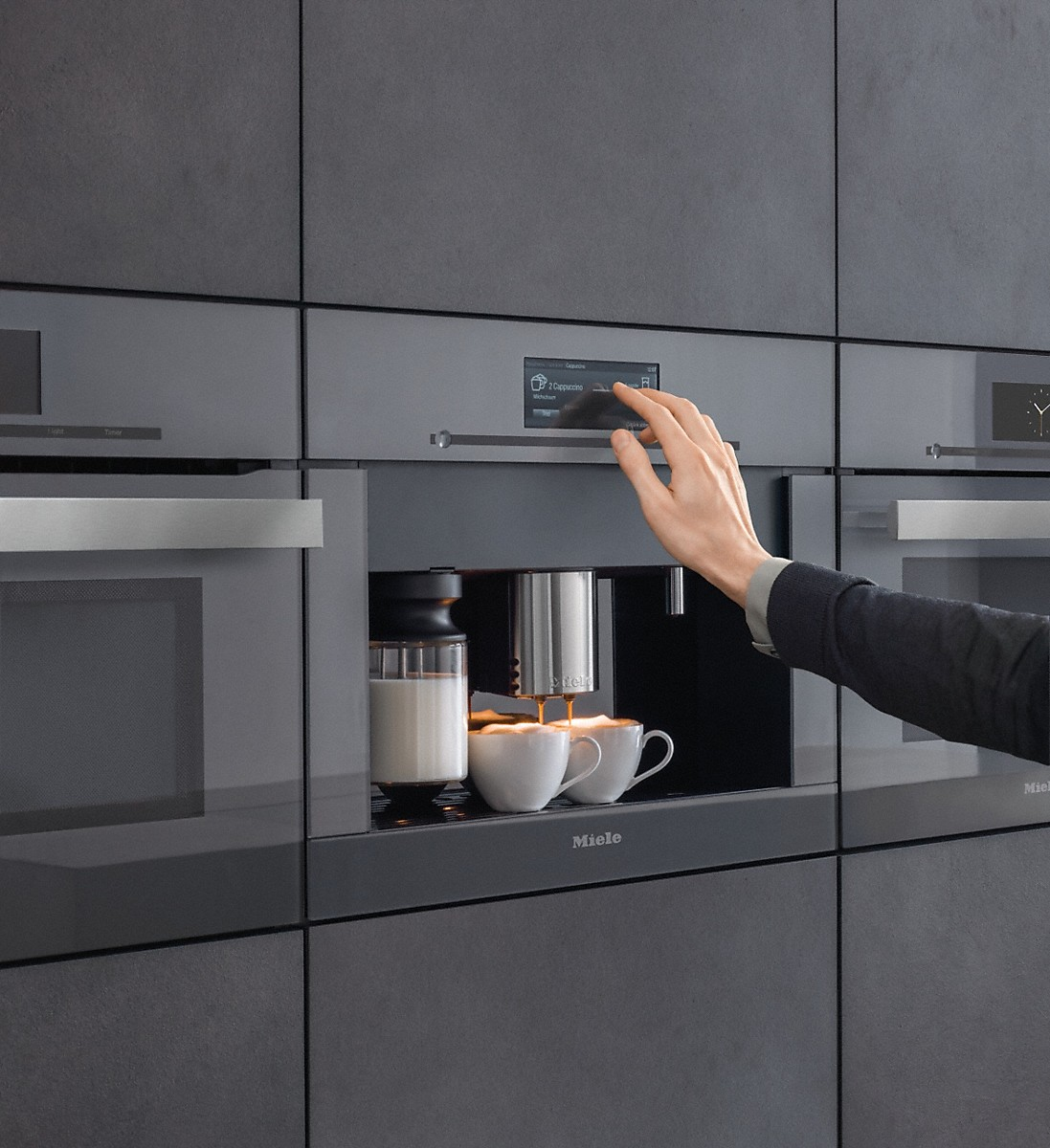 miele cva 6805 einbau kaffeevollautomat. Black Bedroom Furniture Sets. Home Design Ideas