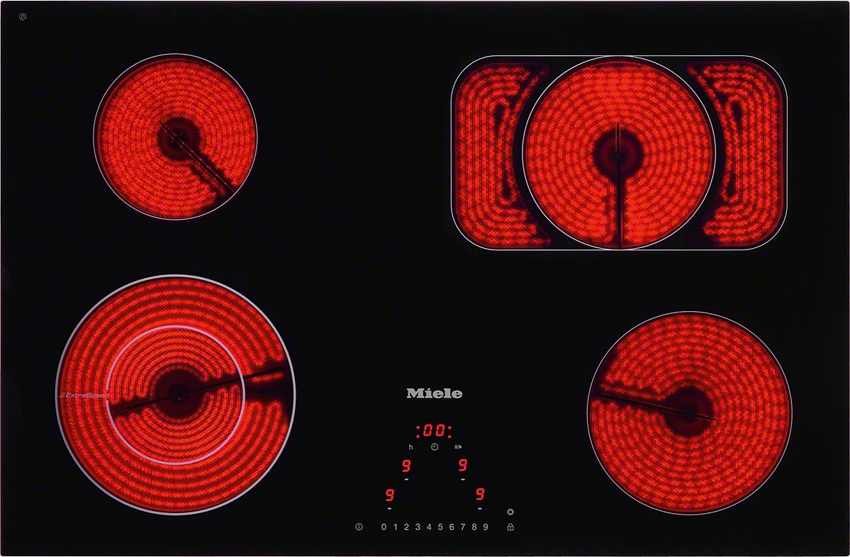 miele km 6215 herdunabh ngiges elektrokochfeld. Black Bedroom Furniture Sets. Home Design Ideas