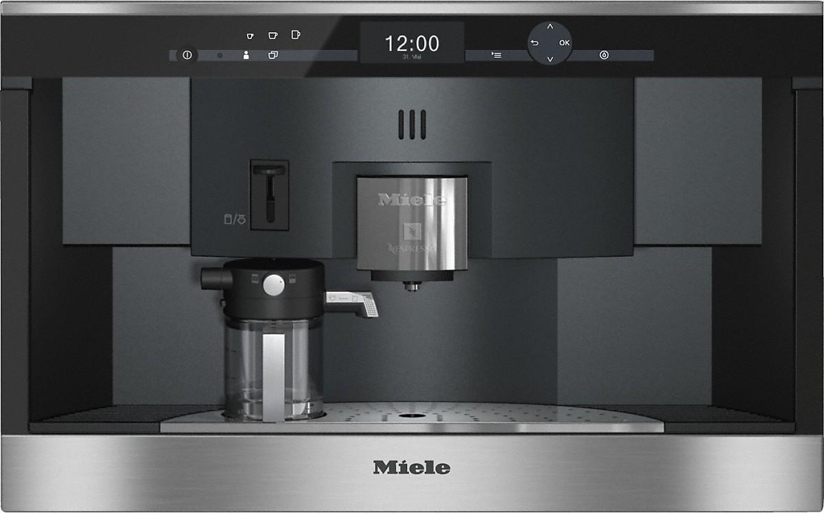 Einbau Kaffeevollautomat Test miele cva 6431 einbau kaffeevollautomat