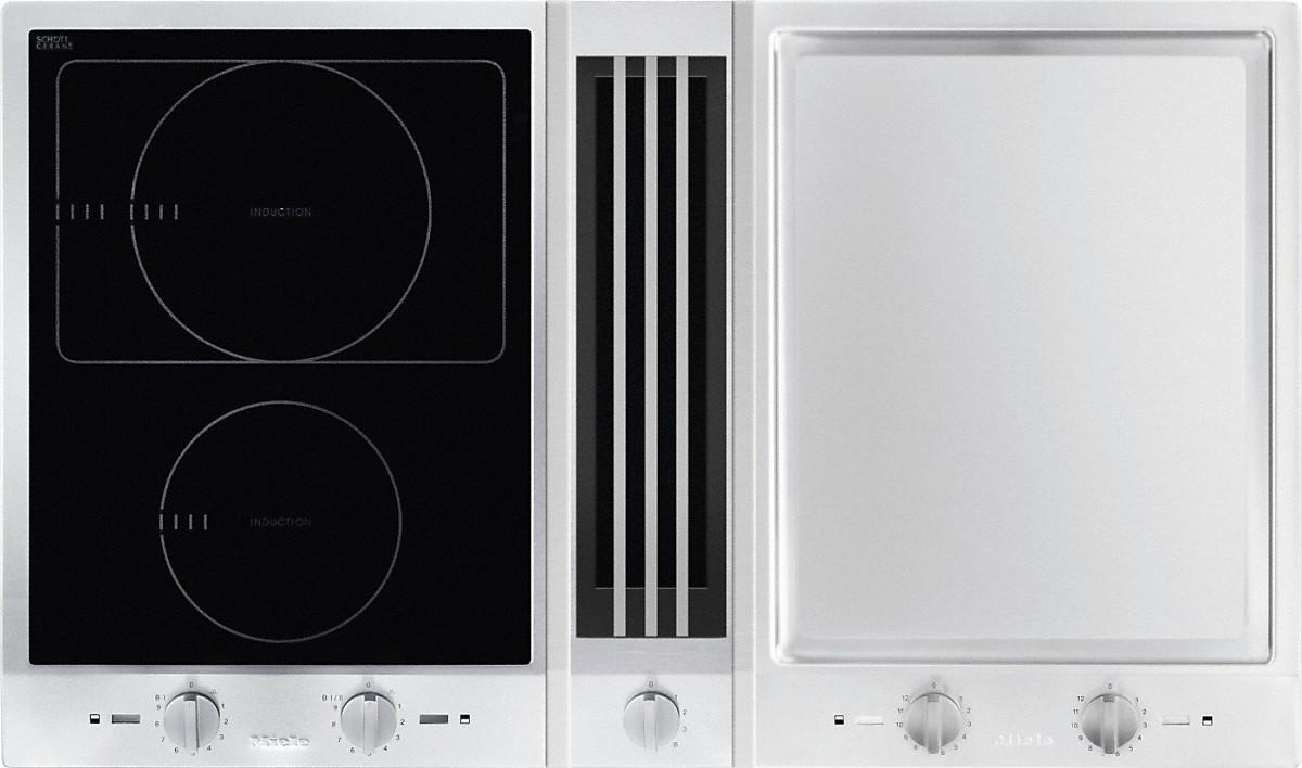 miele kochfelder csda 1020 proline mit tischl fter. Black Bedroom Furniture Sets. Home Design Ideas