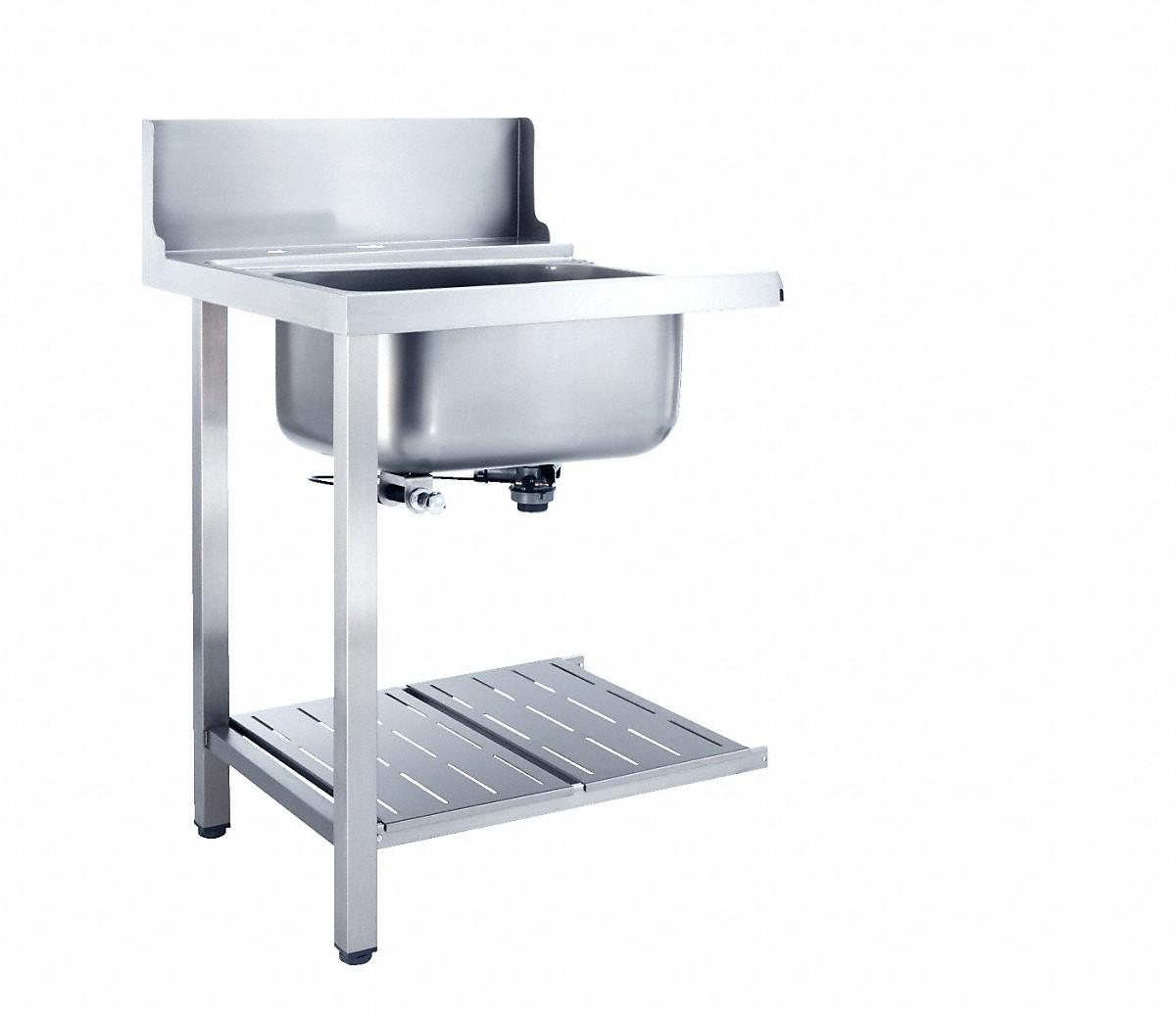 Spulbecken mit spulmaschine for Minikuche mit geschirrspuler
